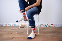 New fashionable cotton Couples socks men women socks casual creative socks 2 pairs 52274