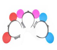 30pcs/lot LED headwear flashing headband led flashing hair clip hair accessories for event party supplies