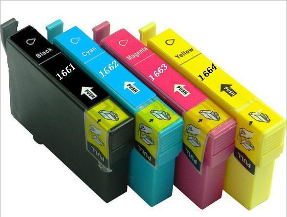 Картридж с чернилами 235mall Epson T1661 T1662 T1663 T1664 Epson /10/me/101 for Epson T1661 T1662 T1663 T1664 видеокарта gigabyte geforce gt710 2gb gddr5