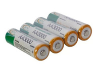 4PCS/LOT 100% New Really BTY Brand High Perfomance Promotion 1.2V 3000mAh Rechargeable AA Battery
