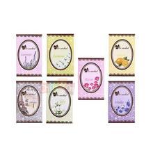 Lovely 7 Taste Fresh Air Scented Fragrance Home Wardrobe Drawer Car Perfume Sachet Bag New 7pcs/Pack(China (Mainland))