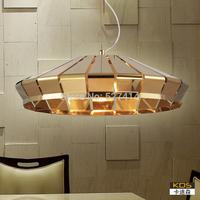 After Kadi Sen modern minimalist fashion personality living room dining room den bedroom hanging lamps lighting metallic