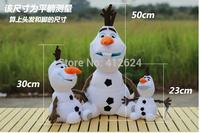 "For Kids Gift 9"" Frozen Movie Olaf Snowman Doll New Coming Big Size Plush Toys Snowman Cartoon Stuffed & Plush Animals"