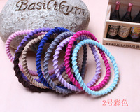 50PCS /lot new  top salling Headwear Candy Colors Band All-Match Multi Colors Hair Ring