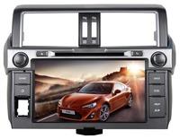 S100 Car DVD GPS Stereo Sat Navi Headunit For Toyota Prado 2014 With Audio Video Radio Ipod  Free Shipping+Map+Gift