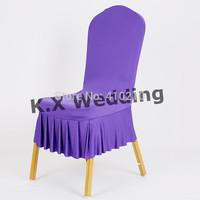 Bottom Ruffled Chair Chair Cover \ Wedding Spandex Chair Cover