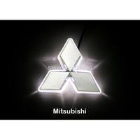 LED Car Tail Logo Auto Badge Light White light for Mitsubishi Lancer Lioncel