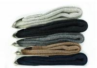 F10939-5/F10943-5 5 Pairs Winter Warm Thick Socks Rabbit Wool Socks For Men