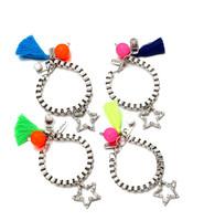 Fashion High Quality Brand Bracelets Five-Pointed Star Pendants Bracelets & Bangles Holiday Gifts