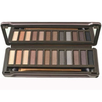 Professional makeup nake color cosmetic palette 12 colors nk2 eye shadow maquiagem makeup necessary