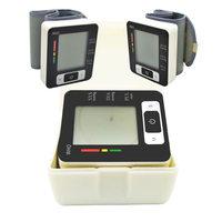 FreeShipping New XYJ-W113 LCD Display Wrist Blood Pressure Monitor & Heart Beat Meter Portable  digital sphygmomanometer