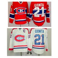 # 21 Brian Gionta Jersey Montreal Canadiens ice hockey jerseys Gionta Jerseys size M-XXXL mix order free shipping