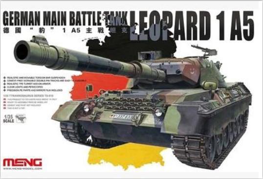 Meng ts-015 1/35 modèle allemand char de combat principal léopard1