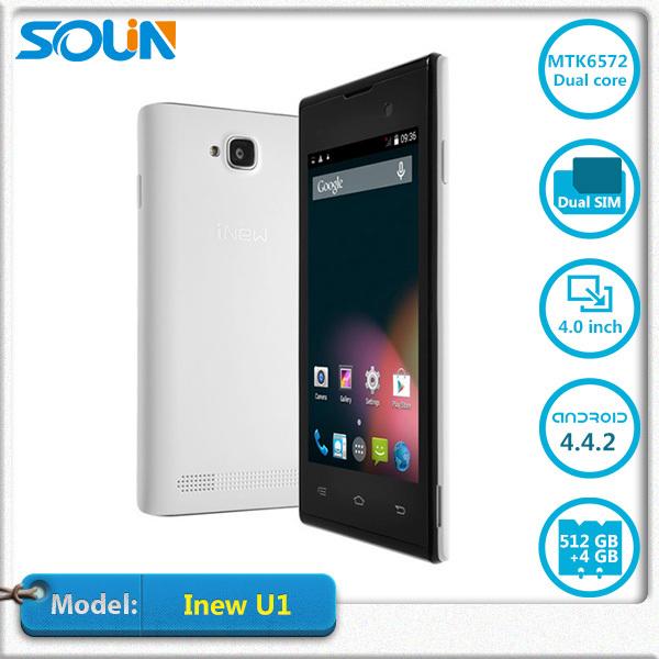 Мобильный телефон INEW U1 720p U1 Mtk6572m Android 1400mah 4.0' 800 x 480 4 Rom мобильный телефон inew u1 720p u1 mtk6572m android 1400mah 4 0 800 x 480 4 rom