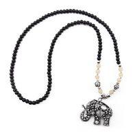 1pc Fashion Multi Style Pendants Women Beads Chain Sweater Collar Jewelry Necklace 65242-65243-65244-65245-65246-65247-65248
