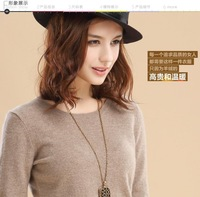 Autumn Winter Women Pullover Sweater 2014 Ladies O-neck Cashmere Sweater Blouses Solid Color 12Color Plus size S-XXXL