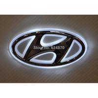 LED Car Tail Logo Auto Badge Light White light for Hyundai I30 Sonata Elantra