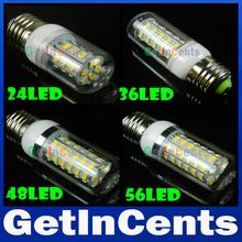 5730 SMD 9W 12W 15W 20W 25W E27 Ampoule LED 24LED 36LED 48LED 56LED 69LED 5730 Lampe LED maïs léger 220V / 110V détail(China (Mainland))