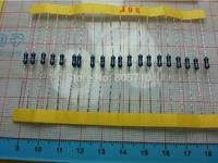 1/4W  1% Metal Film Resistor pack, 30 value, each 20pcs resistor set,  600pcs/lot Free Ship!