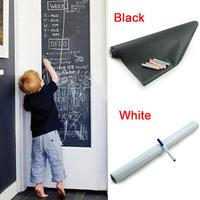 Blackboard Wall Stickers Vinyl Removable Chalkboard Sticker Great Gift For Kids 45cmx200cm