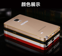 2014 latest Original Xuenair Metal frame back case cover For SAMSUNG Galaxy Note 4 N9100 free shipping