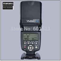 Free shipping Yongnuo YN-560 IV YN560 IV Master Slave Flash Speedlight +Built-in Radio Trigger
