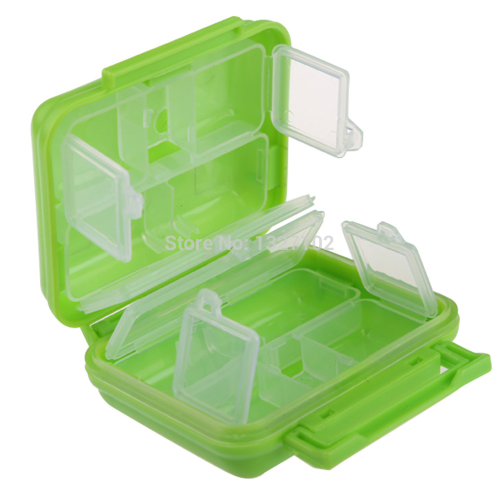 Portable 8 Cells Pocket Storage Box Case Organizer for Pills Jewelry MTY3(China (Mainland))