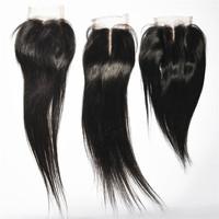 Cheap 6A 3.5x4 Brazilian Virgin Hair Closure Human Hair Swiss Lace Closure Free Middle or 3 Part Closure Free Shipping