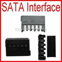 5Pin Sata Hard Crimp Terminal Disk Interface Power Supply Interface ( Plug + Seat )