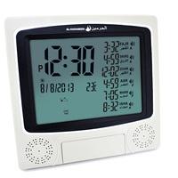 1150 Cities Digital Wall Muslim Azan Clock Pray Reminder with Automatic Fajr Alarm Hijri Calendar / HA-4010