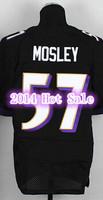 Newest Baltimore #57 C.J Mosley Jersey Black White Purple Elite Top Quality Men CJ Mosley American Football Jersey Hot Sale