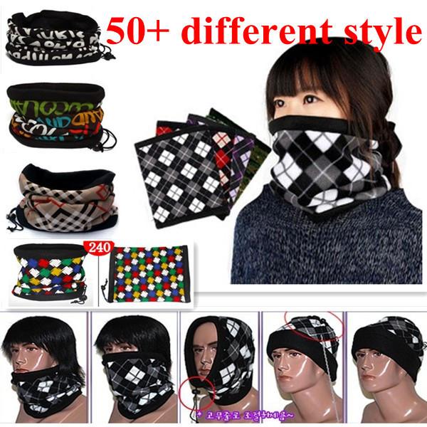 2014 Fashion Design Winter Neck Warmer Gator Gaiter Bandana Vinnie Scarf Head Wrap 100% Fleece/Scarves.Free Shipping.(200-219)(China (Mainland))