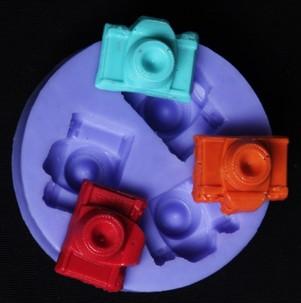 Nicole F0458 mini camera DIY soft silicone mold fondant creative cake decorating molds wholesale marketing(China (Mainland))