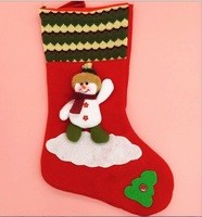 christmas decoration home PARTY decoration christmas gift santa claus Elk snowman socks Christmas pendant christmas stocking