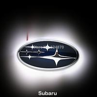 LED Car Tail Logo Auto Badge Light White light for Subaru Legacy