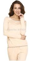 2014Women's Leisure Round Neck Striped Pyjama Sleepwear Pajama Set nightgown pajamas winter robe Free shipping