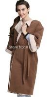 2014 Women's Luxury Warm Thick Sleepwear Loungewear Bathrobe Housecoat Robe bath robebathroberobe nightgown pajamasFree shipping