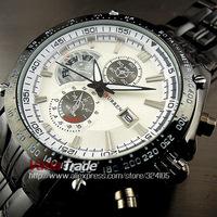 2014 Curren New Top Brand Men Watch Luxury Men Black Steel Sport Calendar Styles Military Quartz Watches Free Shipping 8083