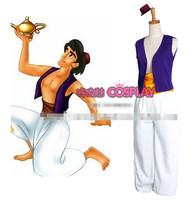 Hot Sale Custom Made Aladdin Prince Cosplay Costume