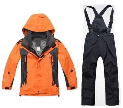Kids ski set suit snow jacket pants snowboard waterproof clothing(China (Mainland))