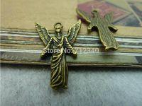 20Pcs Angel Charms Pendant Antiuqe Bronze Tone DIY Jewelry Making