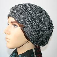 New Women's Cotton Hip Hop Ring Warm Beanie Cap Men Beanies Winter Autumn Women Knitted mix color Hats 5001