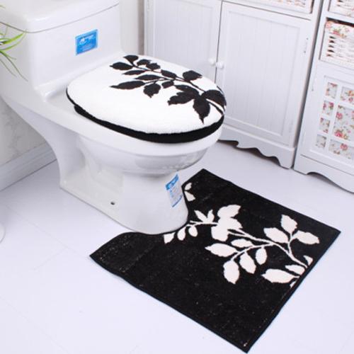 Online kopen wholesale toiletbril zwarte uit china toiletbril zwarte groothandel - Zwart wit toilet ...