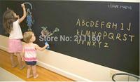 Blackboard Wall Stickers Vinyl Removable Chalkboard Sticker Great Gift For Kids 120cmx200cm