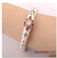 new  Lucky Clover color Zhu Hua Austrian crystal bracelet