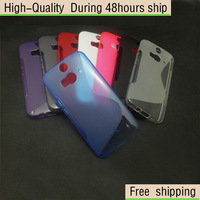 Soft TPU Gel S line Skin Cover Case For HTC Butterfly 2 B810X Free shipping