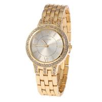 Design High Quality Rhinestone Watch Fashion Roman Numerals Quartz Watch Sports Leisure Ladies Watch
