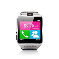 """Bluetooth Smart Watch for Android Phones 1.54"""" Touch Screen SMS Call Sync Pedometer Mobile Anti-lost Camera Remote Control"""