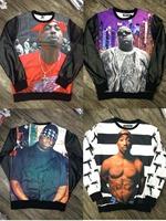 2014 New Fashion Unisex Sweater 2PC 1991 inc O-Neck Sweatshirt 3D 2pc Hoodies WOMEN/MEN  Pullover Sweatshirts