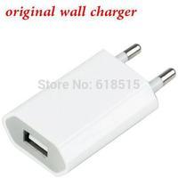 100% Guarantee Genuine Original 5V 1A USB EU Wall Charger for Apple iPhone6 5S 5 4S 4 3GS